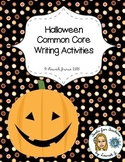 Halloween Fun: Common Core Writing Activities