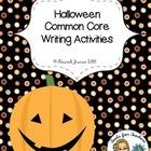 Halloween Fun: Common Core Writing Activities