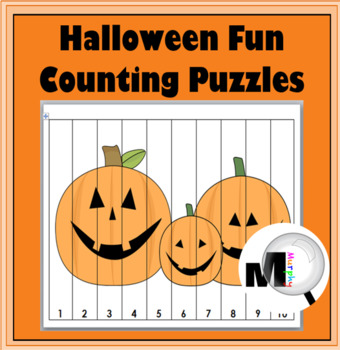 Halloween Math Counting Puzzles Numbers 1-120 - Autumn Act