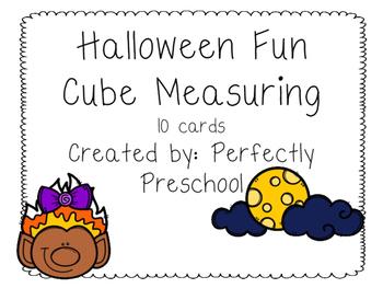 Halloween Fun Cube Measuring