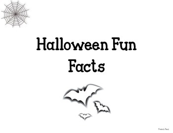 Halloween Fun Facts (1-12)