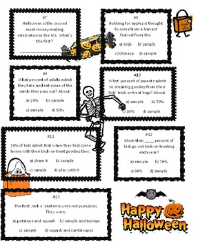 Halloween Fun Facts Quiz