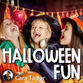 Halloween Fun!  Informational Unit, Includes Bats, Spiders