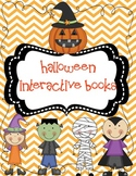 Halloween Fun:  Interactive Emergent Readers
