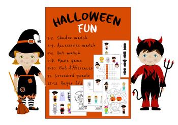 Halloween Fun: Logic and Craft.