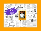 Halloween Fun Math and Literacy K-1
