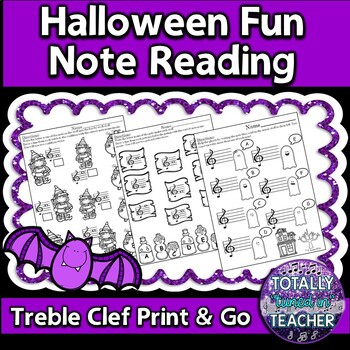 Halloween Fun - Note Reading