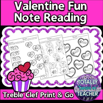 Valentine Fun - Music Note Reading