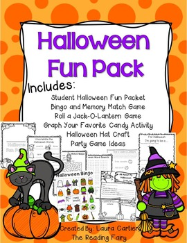 Halloween Activities Fun Pack!