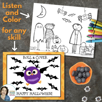 Halloween Fun Pack for Speech & Language Therapy