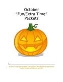 Halloween Fun Packet