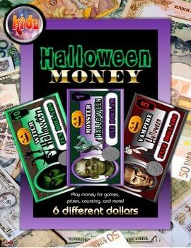 Halloween Fun Play Money