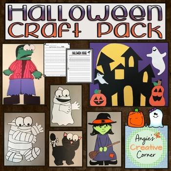 Halloween Craft Pack