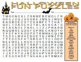 Halloween Fun Puzzles (2 puzzles)