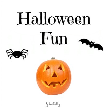 Halloween Fun Reproducible Book