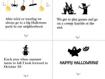 Halloween Fun Reproducible Book