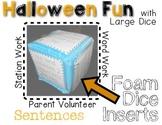 Halloween Silly Sentences - Rolling Fun