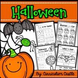 Halloween Thematic Unit - Pumpkins, Spiders and Bats!!