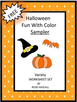 Halloween Fun With Colors Sampler