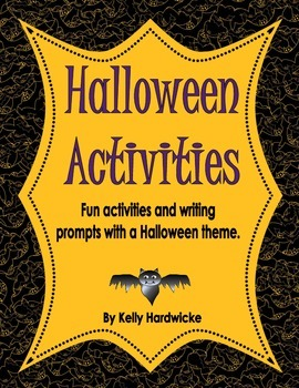 Halloween Fun Worksheets and Writing Prompts