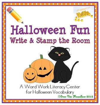 Halloween Fun Write / Stamp the Room Activity Pack
