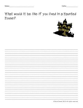 Halloween Fun Writing Prompts