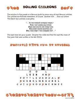 Halloween Fun Pack:  Puzzles and Handwriting