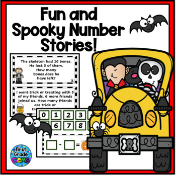 Halloween Fun and Spooky Number Stories