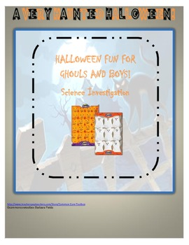 Halloween Fun for Ghouls and Boys A Scientific Investigation