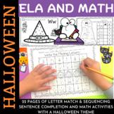 Halloween Fun for K-1