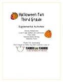 Halloween Fun for Third Grade