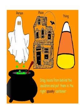 Halloween Fun with Language Skills flipchart