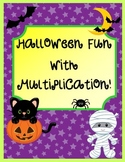 Halloween Fun with Multiplication Common Core Aligned