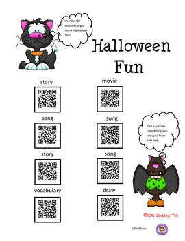Halloween Fun with QR Codes
