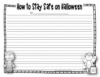 Halloween Fun {writing packet}