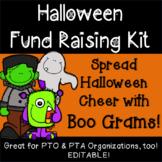 Halloween Fund Raising Boo Gram PTO PTA Kit