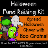 PTO PTA Halloween Fundraiser Boo and Candy Gram Kit