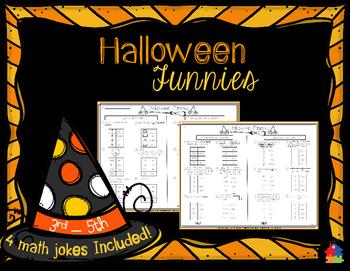 Halloween Funnies (3rd - 5th Math)