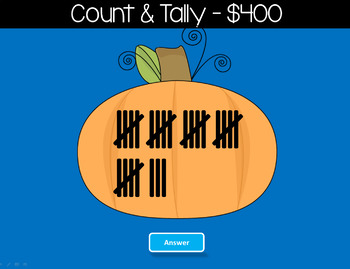 Place Value Halloween Jeopardy Style Game Show