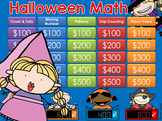 Halloween Math Jeopardy Style Game Show