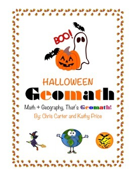 Halloween GEOMATH - Math + Geography = FUN