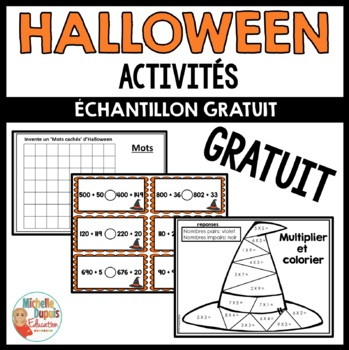 Halloween - GRATUIT    -   French Halloween FREE