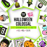 Halloween GROWING Clipart Bundle