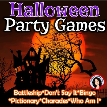 Halloween Games for Your Class Party