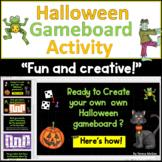 FREE Halloween Gameboard: Kids Create Their Own