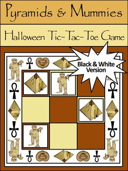 Halloween Game Activities: Pyramids & Mummies Halloween Ti