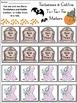 Halloween Game Activities: Tombstones & Goblins Tic-Tac-Toe Game Activity -Color