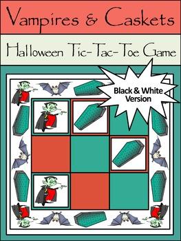 Halloween Game Activities: Vampires & Caskets Halloween Ti