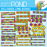 Halloween Game Board Clipart