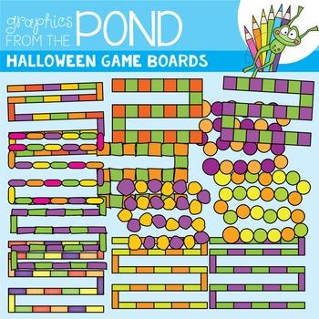 Halloween Game Board Clipart